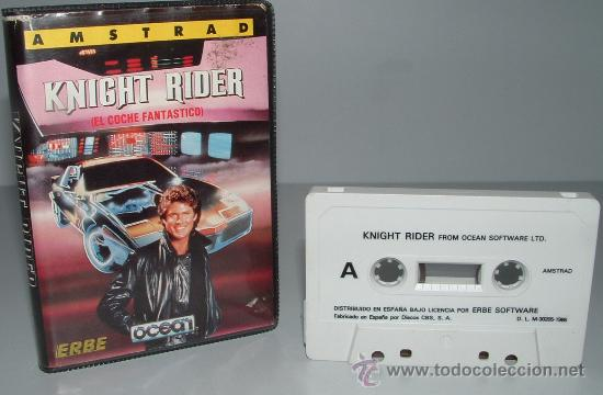 Knight rider el coche fantastico - amstrad cpc - Sold