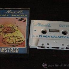 Videojuegos y Consolas: JUEGO CASSETTE AMSTRAD PLAGA GALÁCTICA DE AMSOFT. Lote 31194603