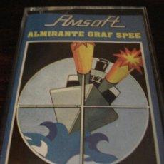 Videojuegos y Consolas: JUEGO CASSETTE AMSTRAD ALMIRANTE GRAF SPEE DE AMSOFT. Lote 31194702