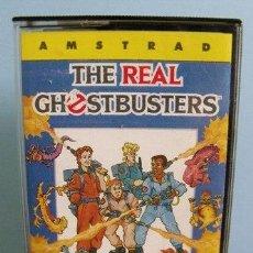 Videojuegos y Consolas: JUEGO THE REAL GHOSTBUSTERS (LOS CAZAFANTASMAS) - AMSTRAD. Lote 32699590