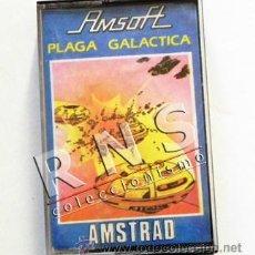 Videojuegos y Consolas: PLAGA GALÁCTICA - AMSTRAD VIDEOJUEGO CASETE DE ORDENADOR AÑOS 80 - ESPACIO NAVES JUEGO JUGUETE. Lote 34480845