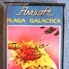Videojuegos y Consolas: JUEGO ORDENADOR AMSTRAD. PLAGA GALACTICA . CASETTE AMSOFT.. Lote 36610557