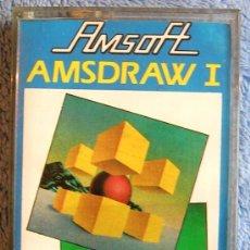 Videojuegos y Consolas: JUEGO AMSTRAD. AMSDRAW I . CASETTE AMSOFT.. Lote 36610584