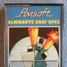 Videojuegos y Consolas: JUEGO AMSTRAD. ALMIRANTE GRAF SPEE . CASETTE AMSOFT.. Lote 36610652