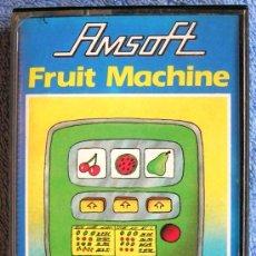 Videojuegos y Consolas: JUEGO AMSTRAD. FRUIT MACHINE . CASETTE AMSOFT.. Lote 36612183