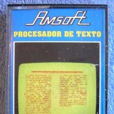 Videojuegos y Consolas: JUEGO AMSTRAD, PROCESADOR DE TEXTO. CASETTE AMSOFT.. Lote 36612479