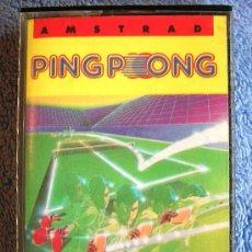 Videojuegos y Consolas: JUEGO AMSTRAD. PING - PONG. CASETTE ERBE.. Lote 36616984