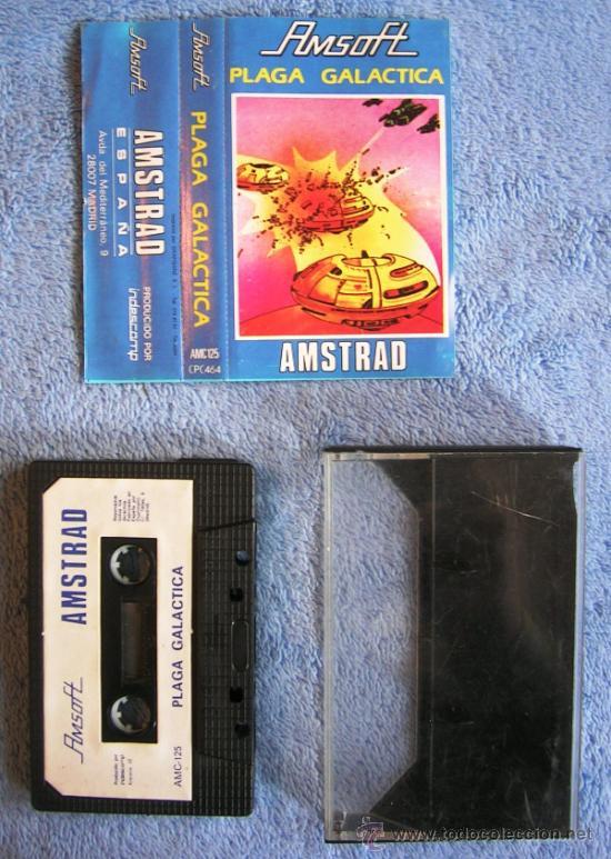 Videojuegos y Consolas: JUEGO ORDENADOR AMSTRAD. PLAGA GALACTICA . CASETTE AMSOFT. - Foto 4 - 36610557