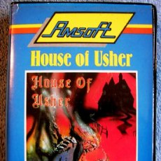 Videojuegos y Consolas: JUEGO AMSTRAD. HOUSE OF USHER. CASETTE AMSOFT.. Lote 36940828