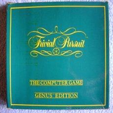 Videojuegos y Consolas: JUEGO AMSTRAD -TRIVIAL PURSUIT - CAJA DE CARTON CON DOS CASSETTES ERBE.. Lote 37298853