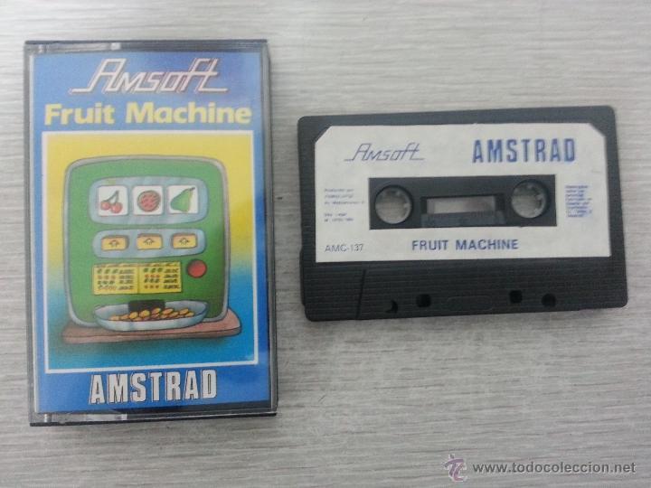 JUEGO DE AMSTRAD FRUIT MACHINE (Juguetes - Videojuegos y Consolas - Amstrad)