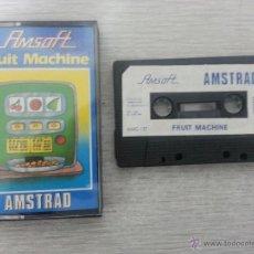 Videojuegos y Consolas: JUEGO DE AMSTRAD FRUIT MACHINE. Lote 39598252