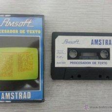Videojuegos y Consolas: JUEGO DE AMSTRAD PROCESADOR DE TEXTO. Lote 39598280