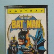 Videojuegos y Consolas: JUEGO BAT MAN (BATMAN) - AMSTRAD. Lote 39863580