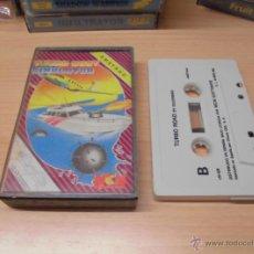 Videojuegos y Consolas: JUEGO AMSTRAD-TURBO BOAT SIMULATOR-COMPLETO INSTRUCCIONES EN INTERIOR. Lote 40957974