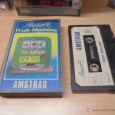 Videojuegos y Consolas: JUEGO AMSTRAD-FRUIT MACHINE-COMPLETO INSTRUCCIONES EN INTERIOR. Lote 40958688