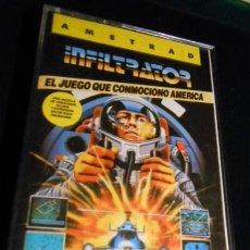 Videojuegos y Consolas: JUEGO AMSTRAD. INFILTRATOR. 1986. Lote 42998444