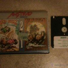 Videojuegos y Consolas: JUEGO AMSTRAD ROCK'N ROLLER Y WELLS FARGO EN DISCO 2X1. Lote 43085193