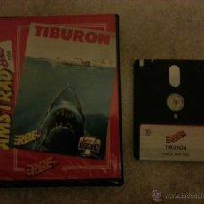 Videojuegos y Consolas: JUEGO AMSTRAD DE DISCO TIBURON. . Lote 43091674