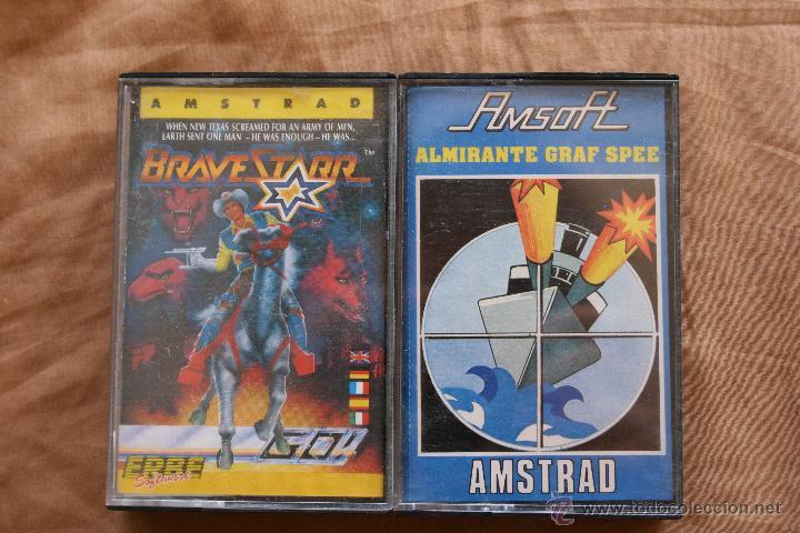 AMSTRAD BRAVESTARR - ALMIRANTE GRAF SPEE CINTA CASSETTE AMSTRAD CPC (Juguetes - Videojuegos y Consolas - Amstrad)