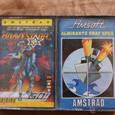 Videojuegos y Consolas: AMSTRAD BRAVESTARR - ALMIRANTE GRAF SPEE CINTA CASSETTE AMSTRAD CPC. Lote 43697449