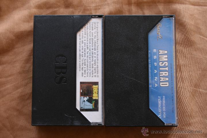 Videojuegos y Consolas: Amstrad Bravestarr - Almirante Graf Spee Cinta Cassette Amstrad CPC - Foto 2 - 43697449