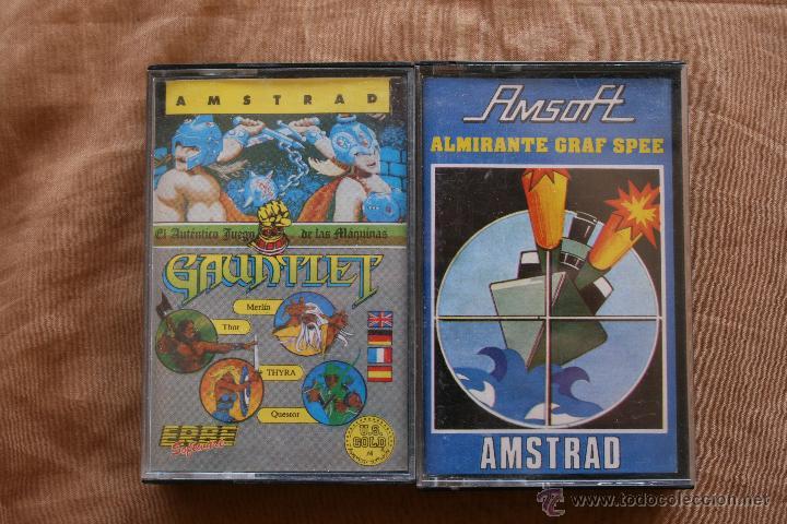 GAUNTLET - ALMIRANTE GRAF SPEE AMSTRAD CINTA CASSETTE (Juguetes - Videojuegos y Consolas - Amstrad)