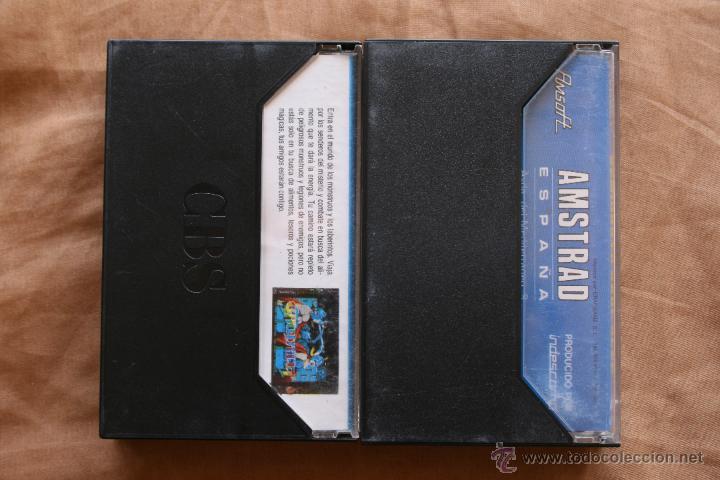 Videojuegos y Consolas: Gauntlet - Almirante Graf Spee Amstrad cinta cassette - Foto 2 - 43697756