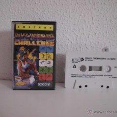 Videojuegos y Consolas: JUEGO DE AMSTRAD DALEY THOMPSON´S OLYMPIC 88. Lote 44257136