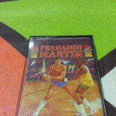Videojuegos y Consolas: JUEGO MITICO DE FERNANDO MARTIN BALONCESTO PARA AMSTRAD CPC 464 - CINTA. Lote 44668580