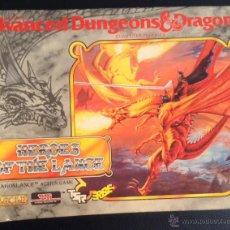 Videojuegos y Consolas: JUEGO DE ORDENADOR HEROES OF THE LANCE ERBE DRAGONLANCE ADVANCED DUNGEONS & DRAGONS AMSTRAD. Lote 44746417