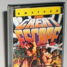 Videojuegos y Consolas: THE GREAT ESCAPE FROM OCEAN [OCEAN] [1986] [ERBE SOFTWARE] [AMSTRAD CPC] BOB WAKELIN. Lote 45003773