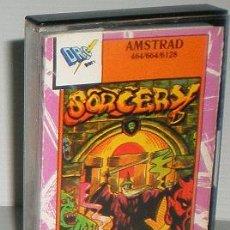 Videojuegos y Consolas: SORCERY [VIRGIN GAMES] 1984 - DRO SOFT [AMSTRAD CPC]. Lote 45071871