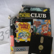 Videojuegos y Consolas: ANTIGUO JUEGO AMSTRAD DISCO - 2 EN 1 - BUBBLE BOBBLE - SUPER WONDER BOY - ENVIO GRATIS A ESPAÑA . Lote 45303776