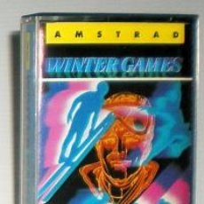 Videojuegos y Consolas: WINTER GAMES [US GOLD] 1986 ERBE SOFTWARE [AMSTRAD CPC]. Lote 45766305