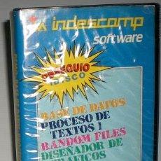 Videojuegos y Consolas: AMSTRAD CPC INDESCOMP SOFTWARE [DISCO 3´´] [INDESCOMP] [AMSTRAD CPC]. Lote 46177794