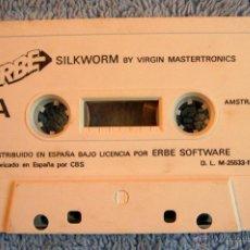 Videojuegos y Consolas: JUEGO AMSTRAD SIN CARATULA - SILKWORM - DE VIRGIN MASTERTRONICS. CASSETTE ERBE. 1989.. Lote 46405086