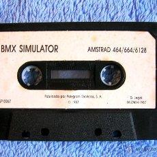 Videojuegos y Consolas: JUEGO AMSTRAD - BMX SIMULATOR - CASSETTE DE POLYGRAN, SIN CARÁTULA, DE 1987.. Lote 46430284