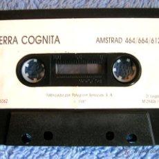 Videojuegos y Consolas: JUEGO AMSTRAD - TERRA COGNITA - CASSETTE DE POLYGRAN, SIN CARÁTULA, DE 1987.. Lote 46629792
