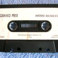 Videojuegos y Consolas: JUEGO AMSTRAD - GRAND PRIX - CASSETTE DE POLYGRAN, SIN CARÁTULA, DE 1987.. Lote 46629839