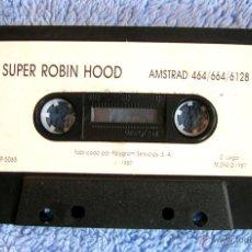 Videojuegos y Consolas: JUEGO AMSTRAD - SUPER ROBIN HOOD - CASSETTE DE POLYGRAN, SIN CARÁTULA, DE 1987.. Lote 46629882