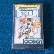 Videojuegos y Consolas: DALEY THOMPSONS DECATHLON CASSETE AMSTRAD CPC464.. Lote 47141196