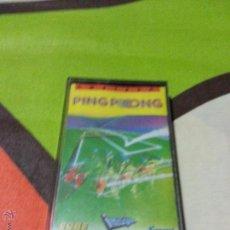 Videojuegos y Consolas: JUEGO PING PONG PARA AMSTRAD CPC464 - CINTA. Lote 47678791