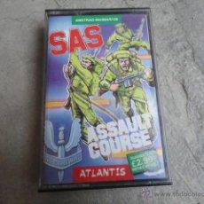 Videojuegos y Consolas: JJ JUEGO ORIGINAL CASETE AMSTRAD SAS ASSAULT COURSE 1986. Lote 47762384