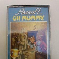 Videojuegos y Consolas: OH MUMMY -AMSOFT -AMSTRAD. Lote 48221806