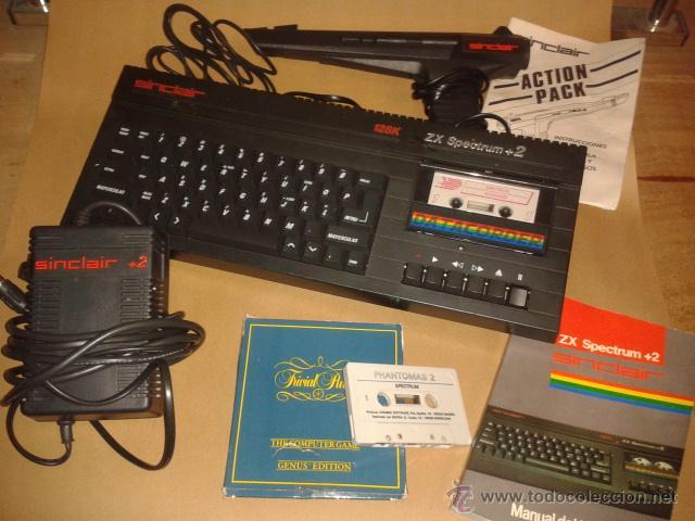 CONSOLA ZX SPECTRUM +2 SINCLAIR (AMSTRAD) DE 128K AÑO 1987 (Juguetes - Videojuegos y Consolas - Amstrad)