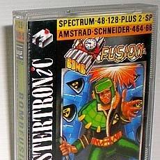 Videojuegos y Consolas: BOMBFUSION [PAL DEVELOPMENTS] MASTERTRONIC [1989] [ZX SPECTRUM] [AMSTRAD CPC] FLIPPY BOMB FUSION. Lote 48553014
