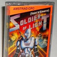 Videojuegos y Consolas: SOLDIER OF LIGHT (XAIN'D SLEENA) ANIMAGIC 1989 (ACE / TAITO / RAD) [AMSTRAD CPC] [PRECINTADO]. Lote 164797348