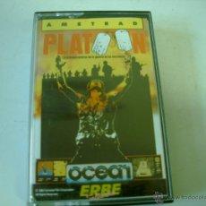 Videojuegos y Consolas: JUEGO EN CINTA AMSTRAD ERBE PLATOON. Lote 48824135
