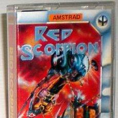 Videojuegos y Consolas: RED SCORPION [QUICKSILVA] 1987 [BUG-BYTE SOFTWARE] [AMSTRAD CPC]. Lote 48921201
